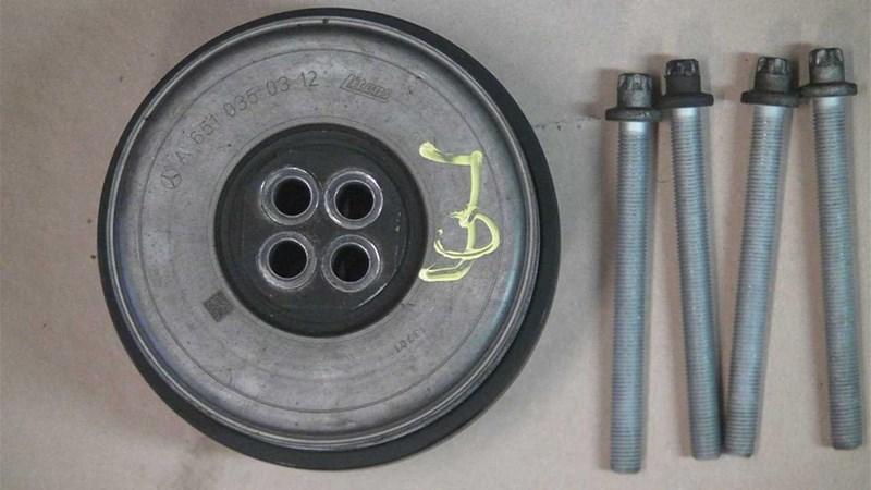 651955/A6510350312 Crank pulley for MERCEDES SPRINTER W906