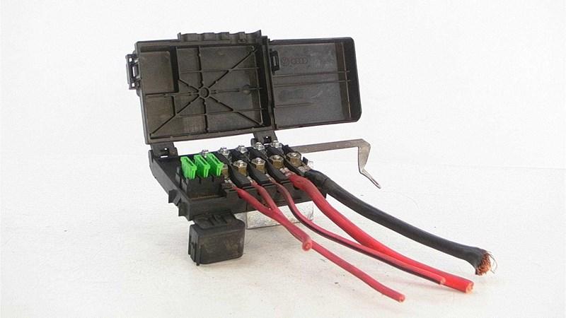ved batteri fuse box for vw golf iv 1j 98-03 | | € 80,00 | 95246940  1j0937550a med vinklet stik + 10 cm ledn